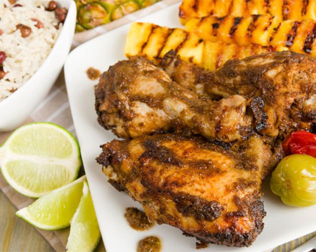 Grilled Jerk Chicken | Food | Pinterest