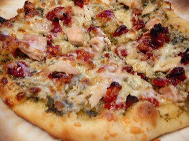 "... Pizza Napoletana"" from Peter Reinhart's ""The Bread Baker's"
