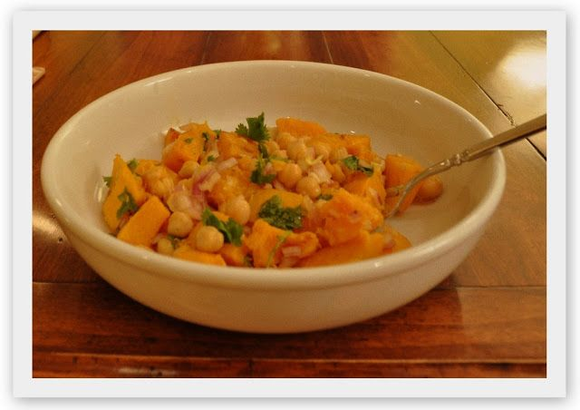 warm butternut squash and chickpea salad - Marin Mama Cooks