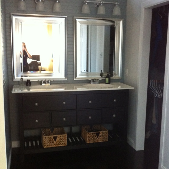 Ikea Schreibtisch Kombination ~ Ikea dresser=new bathroom vanity cabinet  Bathrooms  Pinterest