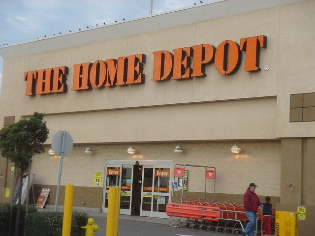 home depot hours on memorial day 2012