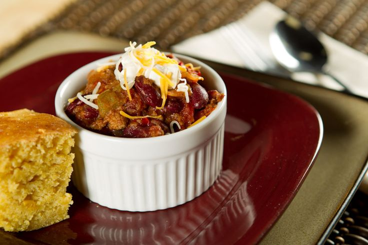 Dude-Approved USANA Chili & Cornbread #usana #food