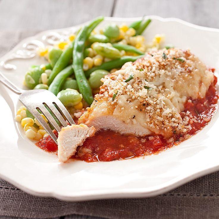 Skillet Chicken Parmesan | Foods I Should Eat | Pinterest