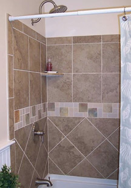 Tub Surround Tile Pattern Home Sweet Home Pinterest