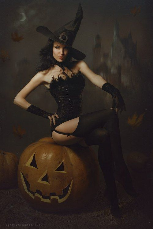 Halloween sexy witches