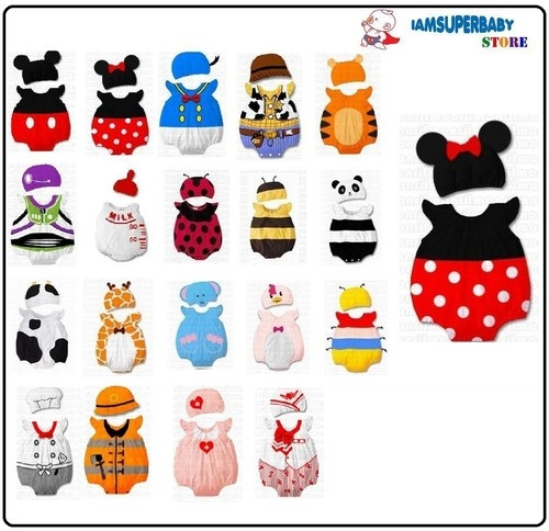 Cartoon Characters To Dress Up As : Cotton baby toddler animal costume outfit cartoon