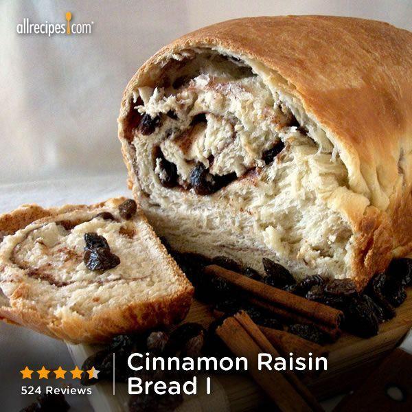 "Cinnamon Raisin Bread I | ""CAUTION: This bread is highly addictive ..."