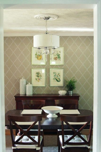 Dining Room Accent Wall Feature Wall Pinterest