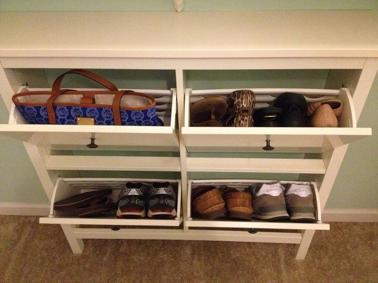 Hat and Shoe Rack with entryway