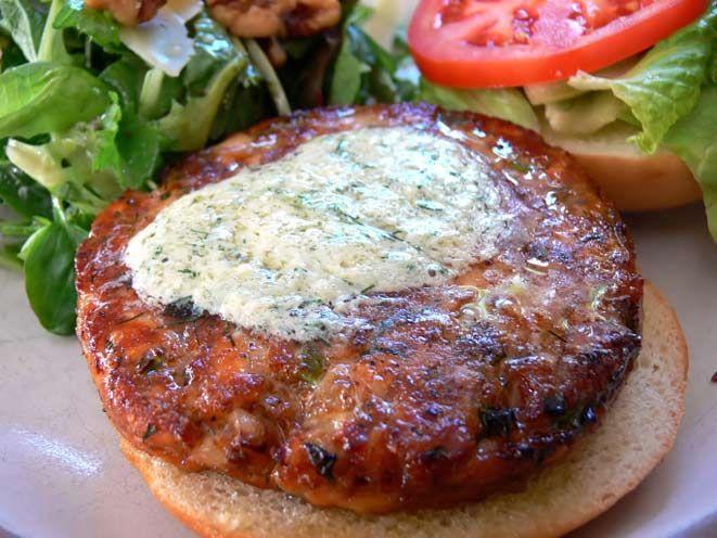 Salmon burger | Health, Body, & Mind. | Pinterest