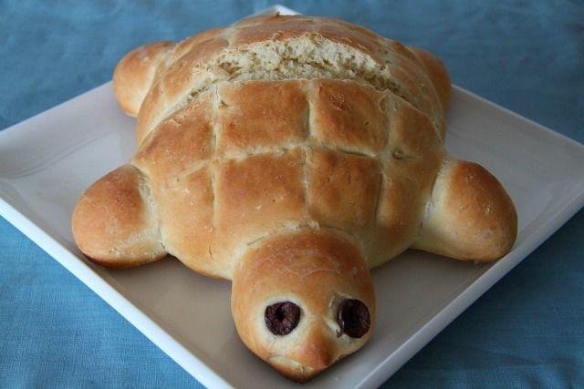 Turtle Bread | Brot und Brötchen | Pinterest