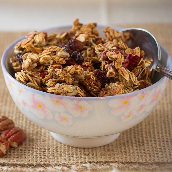 Gluten-Free Almond-Maple Granola Clusters Recipes — Dishmaps