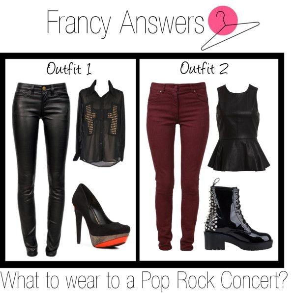 Rock concert outfit ideas ) | Fashion | Pinterest