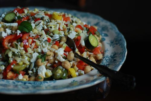 corn and zucchini orzo salad corn and zucchini orzo salad recipe corn ...