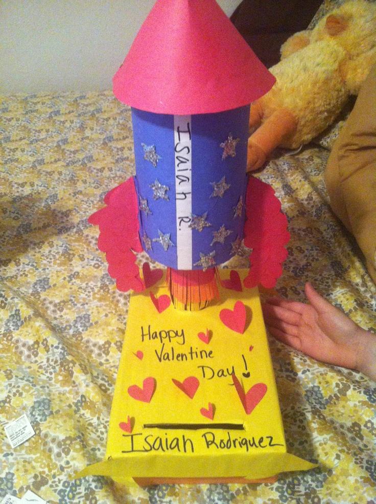 rocket valentine's day box
