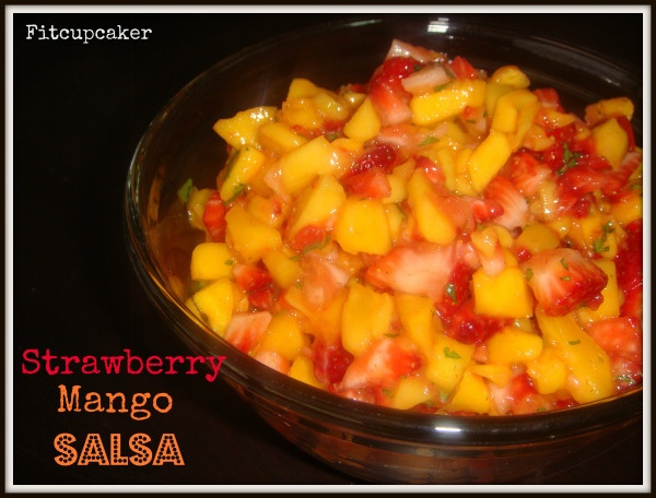 Strawberry Mango salsa | food | Pinterest