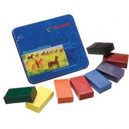 Stockmar Beeswax Crayons - Standard Mix - 8 Blocks. $15.95