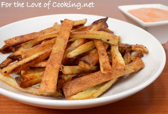 Oven Baked French Fries @ For the Love of Cooking