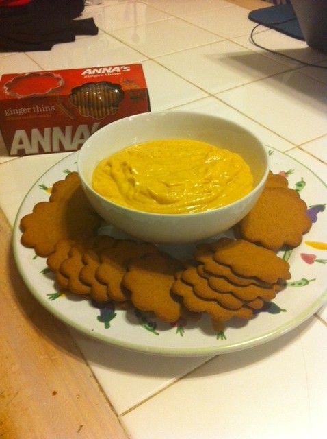 Thanksgiving Appetizer Idea Pumpkin Dip Holiday Food
