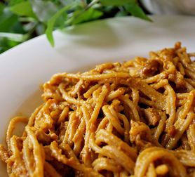 Healthy Asian Peanut Noodles With Lime (I'll substitute veggie broth ...
