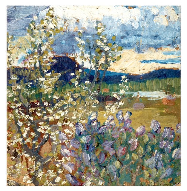 Helmer Osslund 1866-1938 Spring Landscape