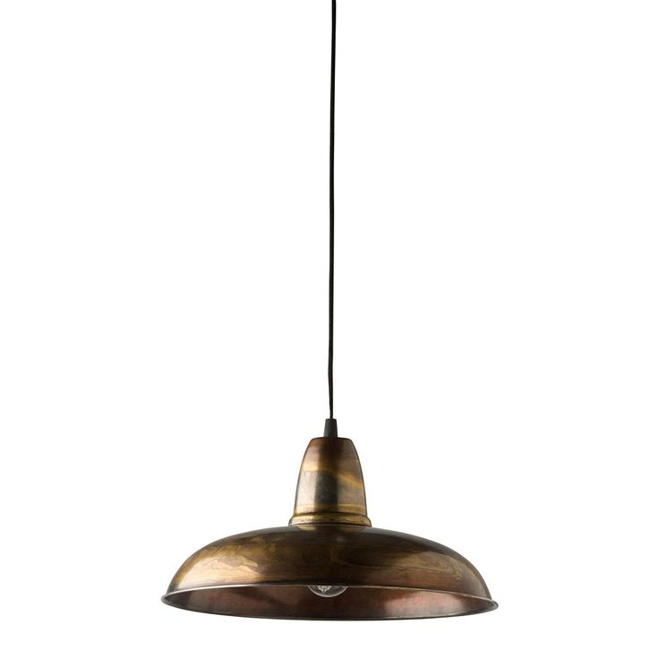 Antique Copper Pendant Light Kitchen Pinterest