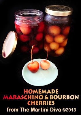 Tequila Smash And Homemade Maraschino Cherries Recipe — Dishmaps