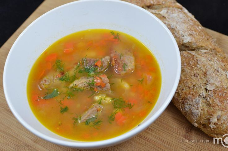 Grandma's white bean soup, step by step photo recipe