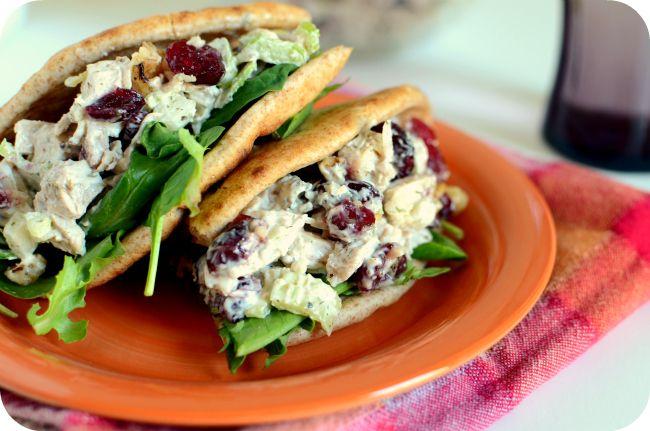 Cranberry Walnut & Tarragon Turkey Salad 3