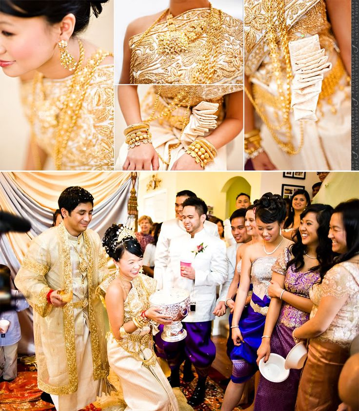 Cambodians Traditional Wedding Outfits