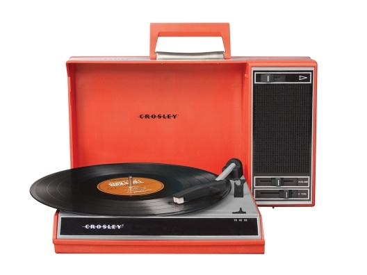 Spinnerette By Crosley | Open Sky // I have this little guy and it's completely awesome. It also has a USB jack for recording vinyl to the 'puter.  $119