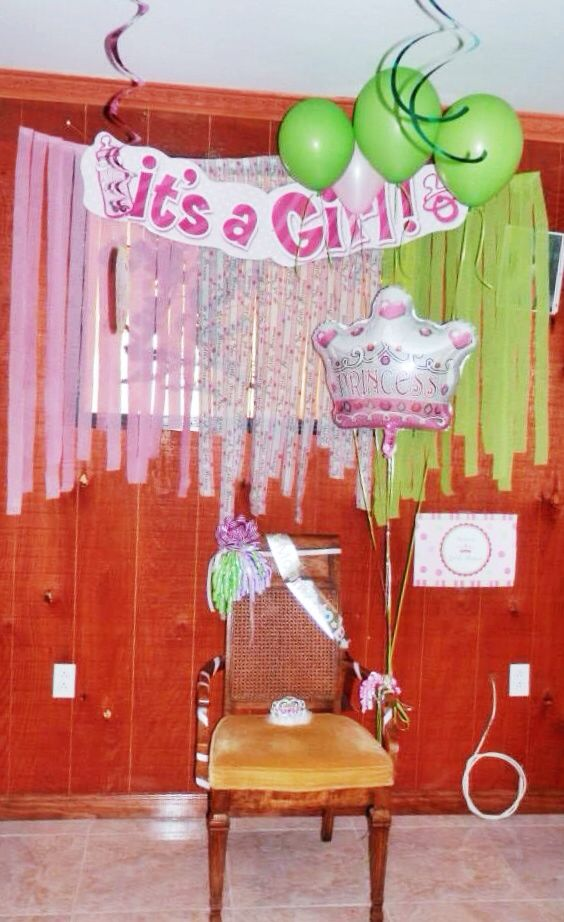 princess baby shower mom to be chair expecting pinterest