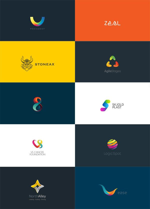 Logo design colors