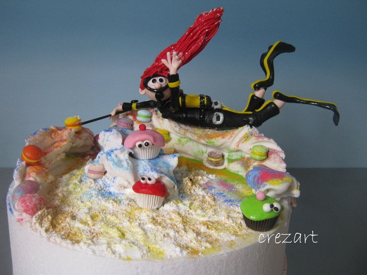 3d Cake Decorating Download : 3D Figures cake decorating ideas Pinterest