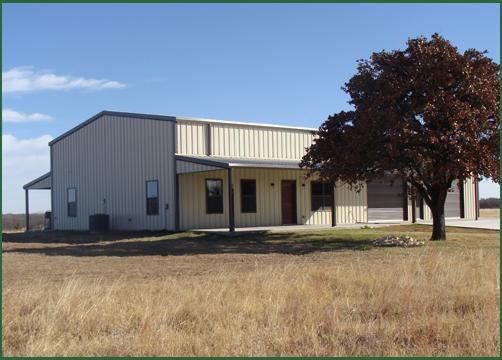 Bedrock custom homes barndominiums home sweet home for Metal houses texas