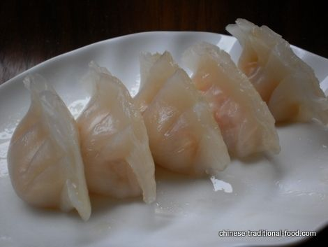 ... gow @ http://www.chinese-traditional-food.com/shrimp-dumplings.html
