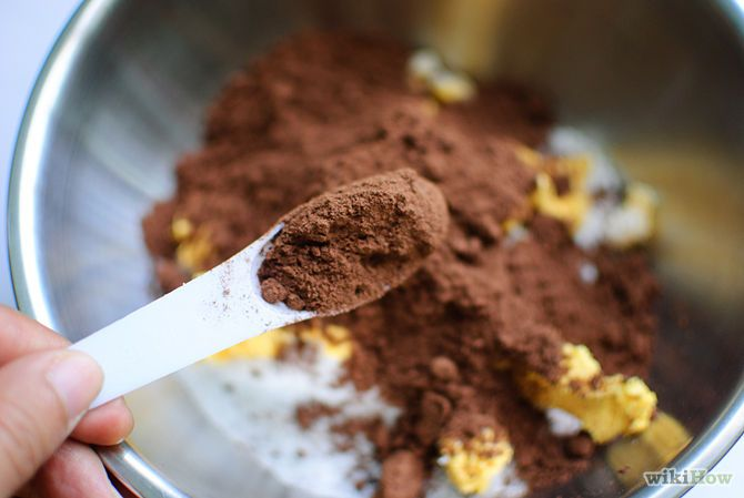 how to substitute chocolate chips for cocoa powder