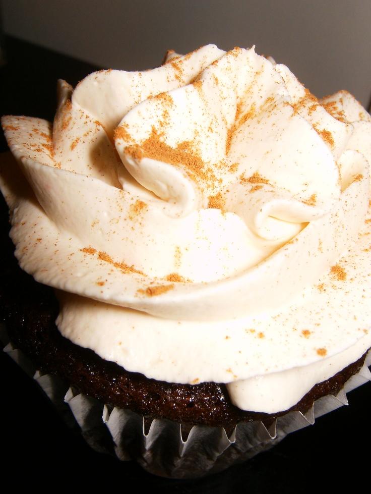 "Mexican Hot Chocolate cupcake | ""Cupcakes! Nuff Said."" | Pinterest"