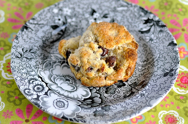 hazelnut chocolate chip scones | Breakfast Recipes to Try | Pinterest