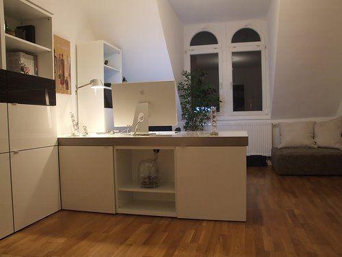 ikea besta workstation hack ikea pinterest. Black Bedroom Furniture Sets. Home Design Ideas