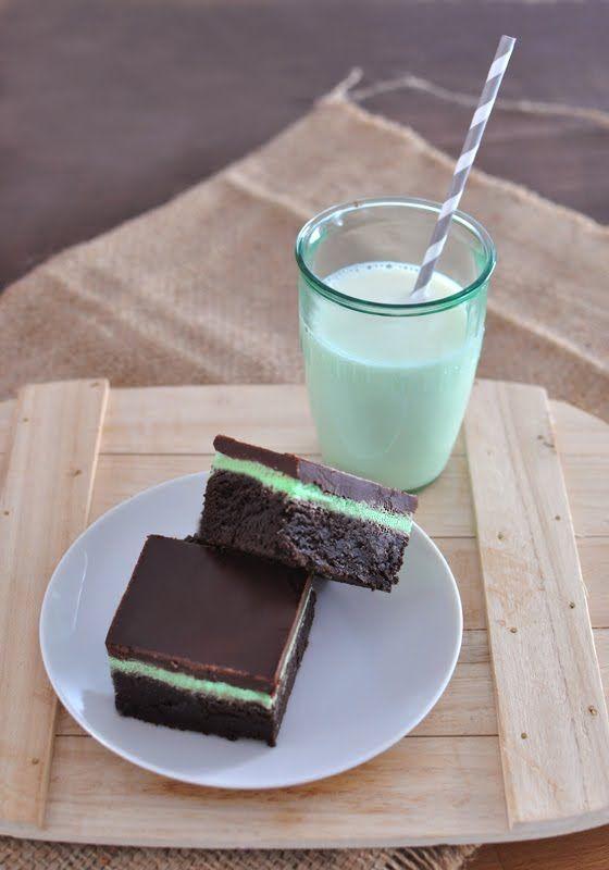 Chocolate Mint Brownies | Mogwai Soup | Delicious Dessert | Pinterest