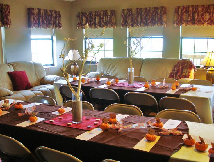 Simple Fall Bridal Shower Wedding Pinterest