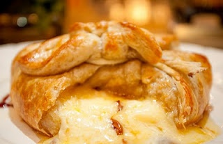 Maple & Pecan Baked Brie... Maple & Pecan? Omg, have to try this.