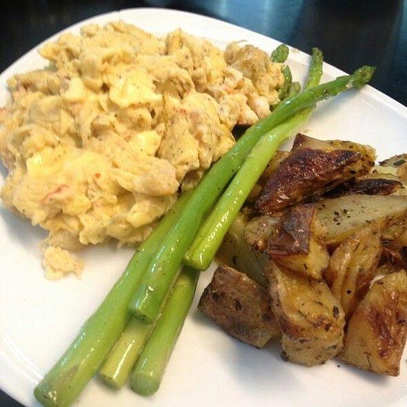 Lobster Scrambled Eggs @ Dean & Deluca Bangkok