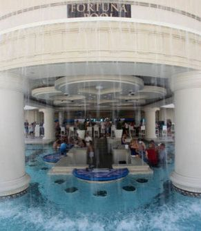 Swim up blackjack caesars palace las vegas nevada usa for Caesars swimming pool