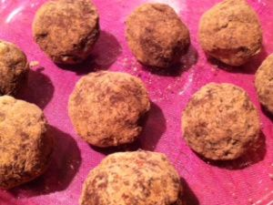 Date-Cacao-Pistachio Truffles | foodie with a life