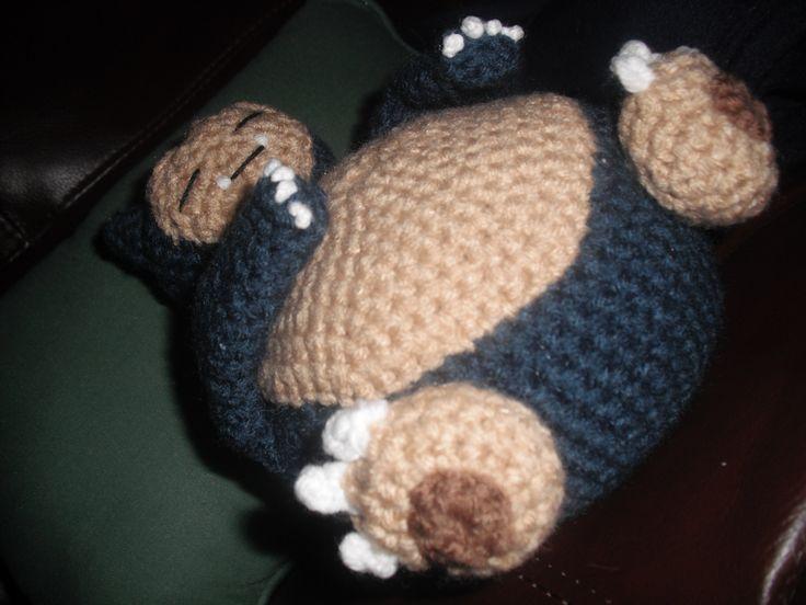 Amigurumi Pokemon Snorlax : Snorlax crochet pattern Crochet Pinterest