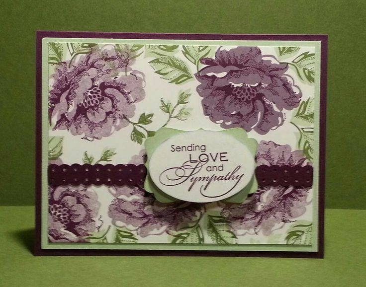Sympathy Card by Annette