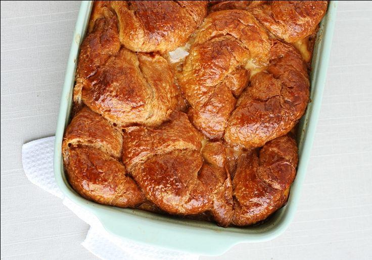 Bourbon Croissant Bread Pudding   Favorite Recipes   Pinterest