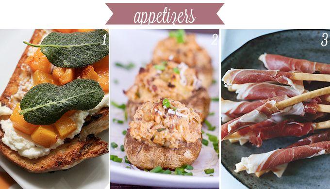 Thanksgiving Menu Ideas Appetizers Let 39 S Eat Pinterest